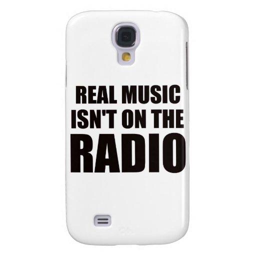 La música real no está en la radio