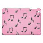 La música rosada y negra observa el caso del iPad