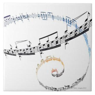 La música se basa en Fanataisie Azulejo Cuadrado Grande