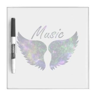 La música se va volando verde púrpura de la Nova 1 Tableros Blancos