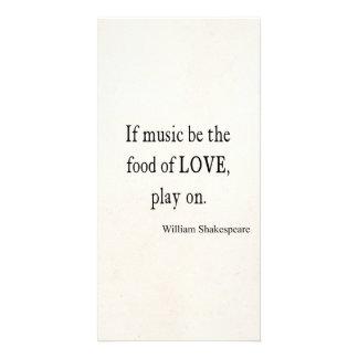 La música sea la comida de las citas de la cita de tarjetas con fotos personalizadas