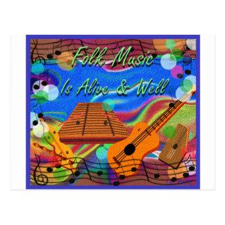 La música tradicional está viva y bien tarjetas postales