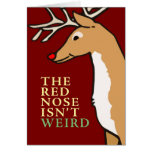 La nariz de Rudolph es una tarjeta evolutiva de la