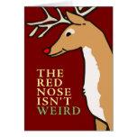 la nariz de s es una tarjeta evolutiva de la tarjeta de felicitación