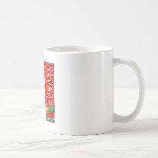 La nariz de un terrorista tazas de café