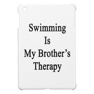 La natación es la mi terapia de Brother