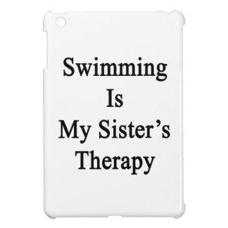 La natación es la terapia de mi hermana