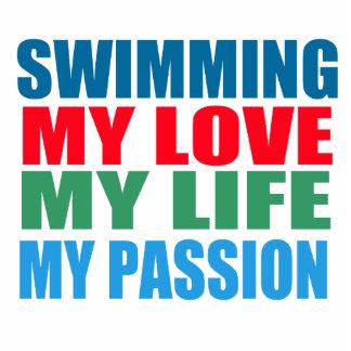 La natación es mi pasión escultura fotográfica