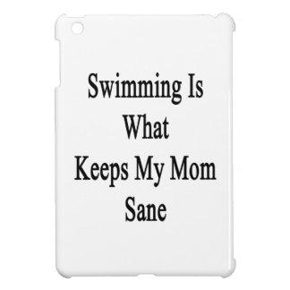 La natación es qué mantiene a mi mamá sana
