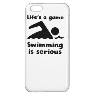La natación es seria