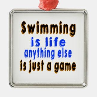 La natación es vida que todo lo demás es apenas un ornamento para reyes magos