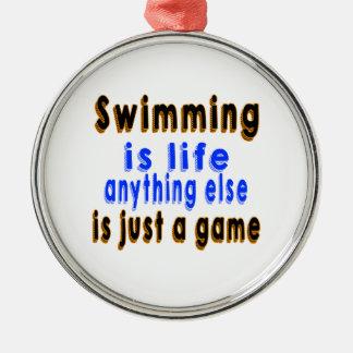La natación es vida que todo lo demás es apenas un adorno de navidad