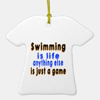 La natación es vida que todo lo demás es apenas un adornos