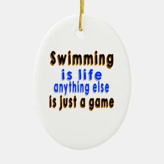 La natación es vida que todo lo demás es apenas un ornamentos de reyes magos