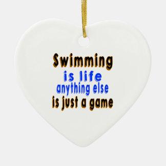 La natación es vida que todo lo demás es apenas un ornamentos para reyes magos