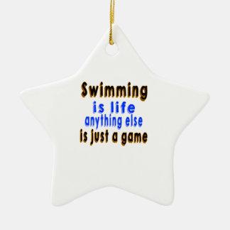 La natación es vida que todo lo demás es apenas un adorno