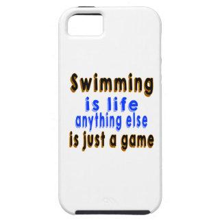 La natación es vida que todo lo demás es apenas un iPhone 5 Case-Mate carcasas