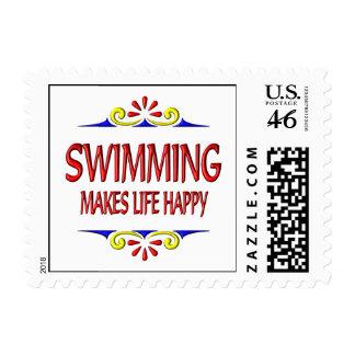 La natación hace vida feliz