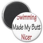 La natación hizo mi extremo Niza Imanes Para Frigoríficos