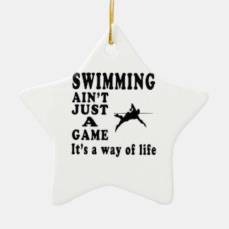 La natación no es apenas un juego que es una maner ornaments para arbol de navidad