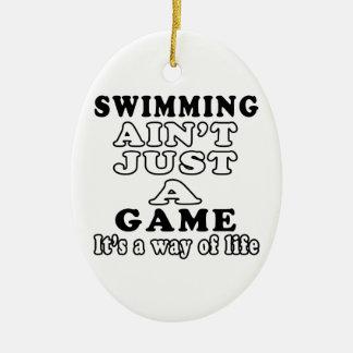 La natación no es apenas un juego que es una maner ornato