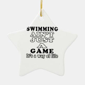 La natación no es apenas un juego que es una maner ornamentos de reyes