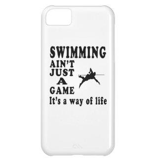 La natación no es apenas un juego que es una maner