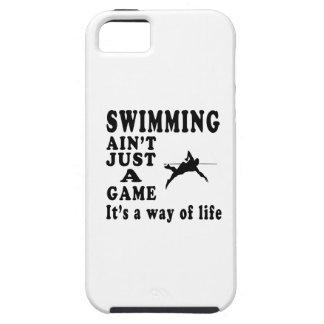 La natación no es apenas un juego que es una maner iPhone 5 funda