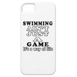 La natación no es apenas un juego que es una maner iPhone 5 protectores