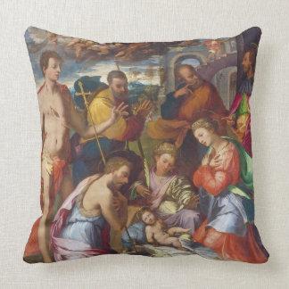 La natividad, 1534 (aceite en el panel) cojín