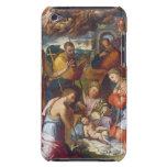 La natividad, 1534 (aceite en el panel) iPod Case-Mate protector