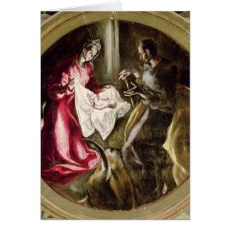 La natividad, 1587-1614 felicitaciones