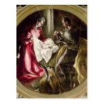 La natividad, 1587-1614 tarjeta postal