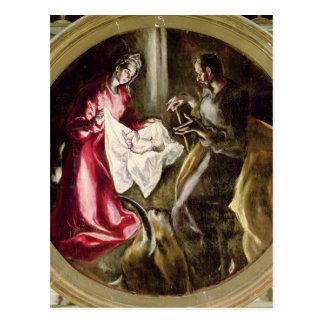 La natividad, 1587-1614 postal