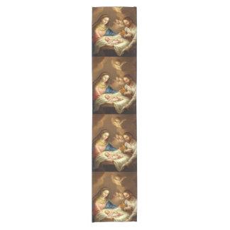 """""""La Natividad"""" art table runner"""