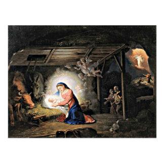 La natividad de Cristo - Vladimir Borovikovsky Tarjeta Postal
