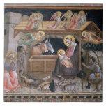 La natividad, detalle a partir de la vida de la Vi Teja Cerámica