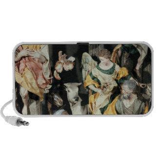 La natividad, hecha en Nápoles Laptop Altavoces