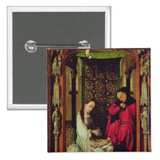 La natividad, izquierda de un tríptico, c.1496 pins