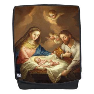 """La Natividad"" religious art backpack"