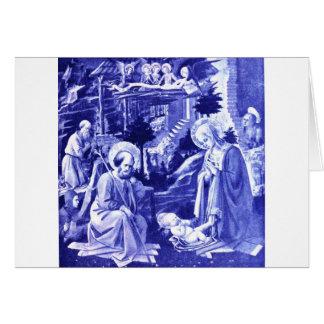 La natividad tarjeta de felicitación