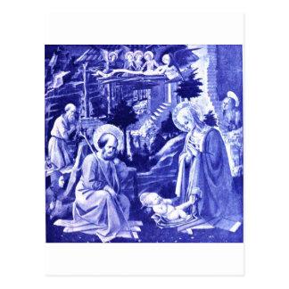 La natividad tarjetas postales