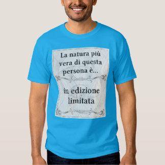 La natura più vera... in edizione limitata t-shirt
