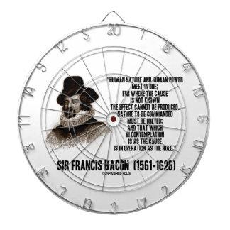 La naturaleza de sir Francis Bacon que se ordenará Tablero Dardos