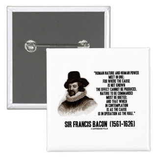 La naturaleza de sir Francis Bacon que se ordenará Pin