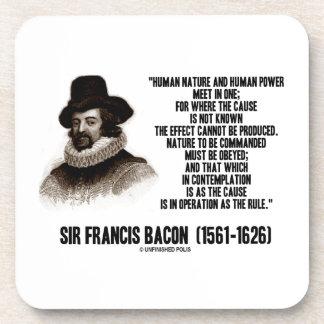 La naturaleza de sir Francis Bacon que se ordenará Posavaso