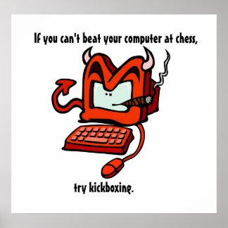 La naturaleza del ordenador póster