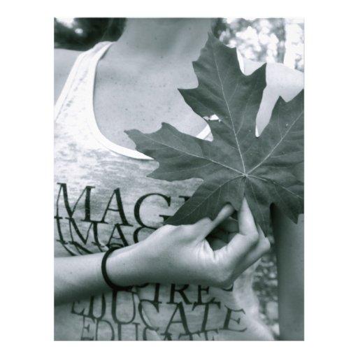 La naturaleza es amor membretes personalizados