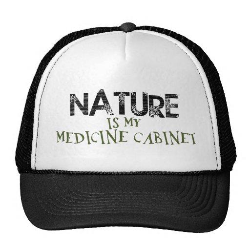 La naturaleza es mi botiquín gorros