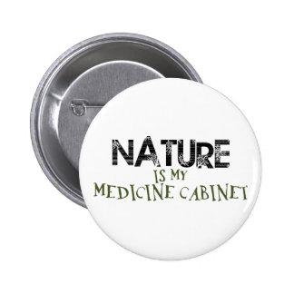 La naturaleza es mi botiquín pin